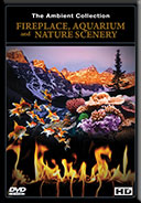 DVD-Box Set -Fireplaces - Aquariums and Natural Scenery - 3 DVDs with Aquarium - Fireplace and Nature Landscapes scenes