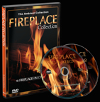 9  Classic ,Log ,Modern and Contemporary Fireplaces with Flames and Crackling Burning Wood Sounds