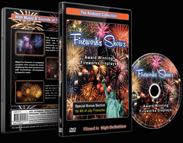 Firework Displays with Music and Firework Sounds